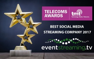 Social Media Streaming Company best webcasting company uk best streaming company london