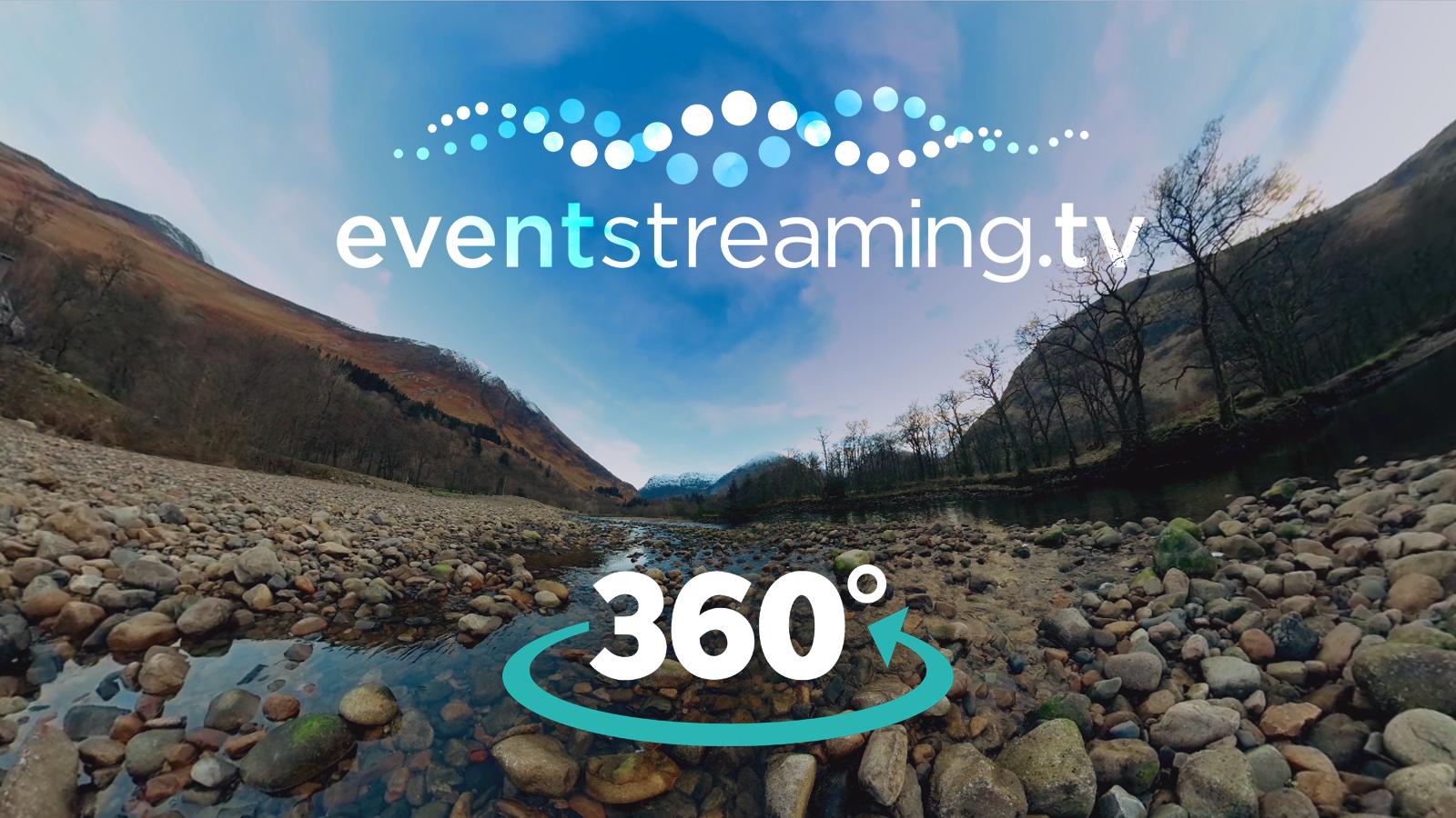 360 video company to stream 360 degree event webcast 360 live stream 360°