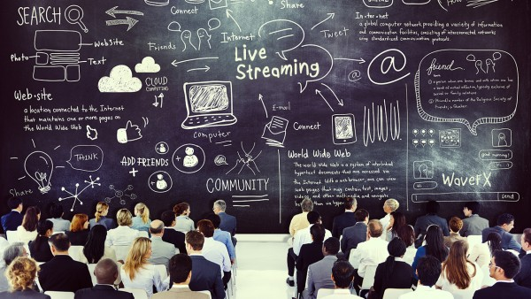 live streaming events 2017 webcast statistics online video 2018 stats