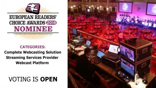 webcast awards winner wavefx live streaming company webcasting production uk stream
