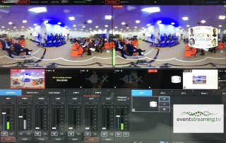 Vision mixing 360 webcast live 360 vr to facebook 360 degree streaming to youtube live event streaming