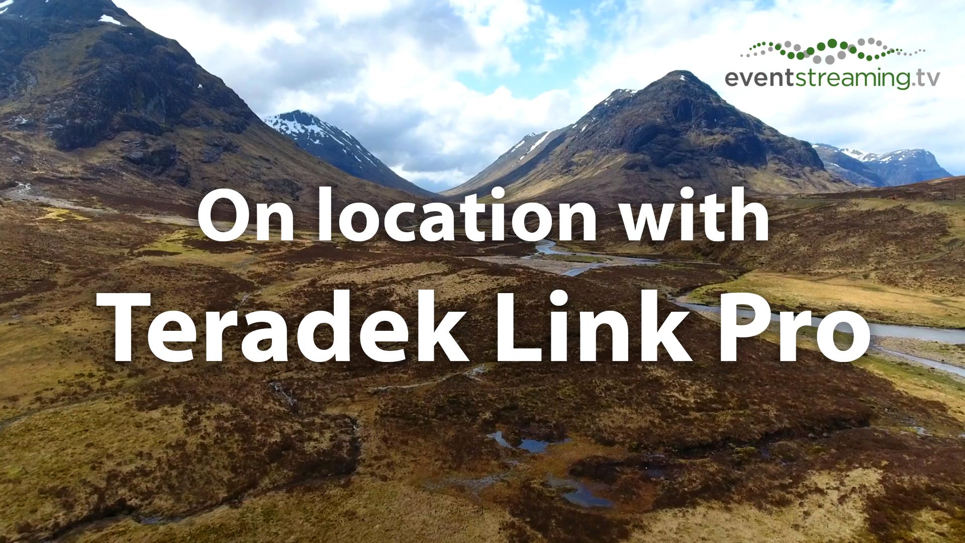 portable WiFi Teradek link pro hire remote wifi rent teradek remote event streaming tv