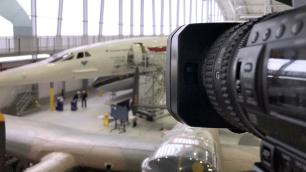 streamed event webcaster live stream concorde webcast facebook live production company duxford cambridge uk streaming